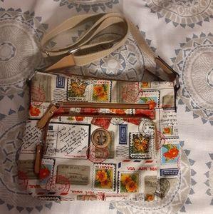 GIANI BERNINI Stamp print crossbody bag